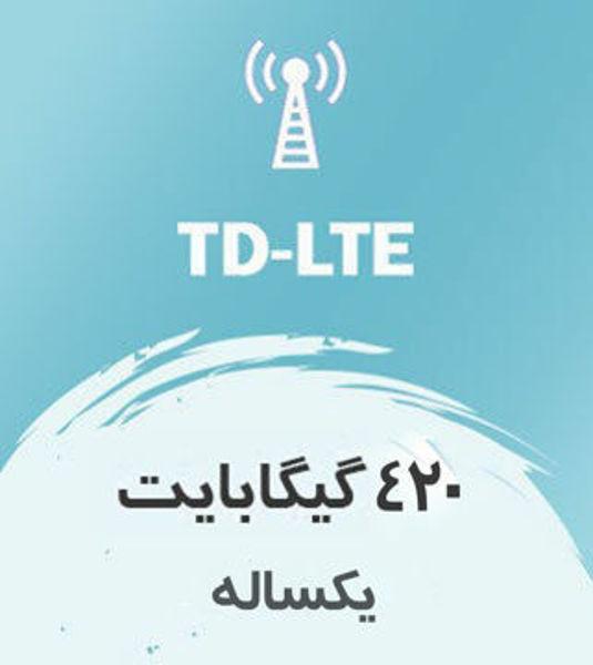 تصویر از اینترنت ثابت TD-LTE، یک ساله ۴۲۰ گیگ با سرعت ۱ تا ۴۰ مگ