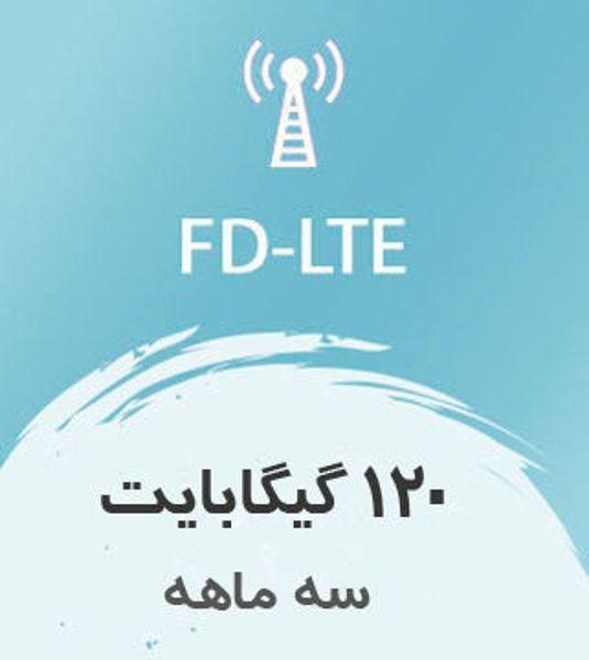 تصویر از ینترنت FD-LTE، سه ماهه 120 گیگ با سرعت ۱ تا ۴۰ مگ